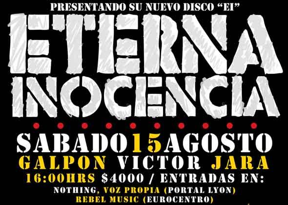 Eterna Inocencia en Chile (Regalamos entradas)