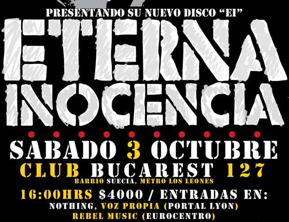 Ahora si! Eterna Inocencia en Chile
