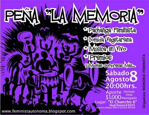 Peña ¨La Memoria¨