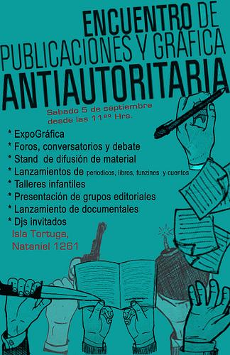 Encuentro de Publicaciones y Grafica Antiautoritaria