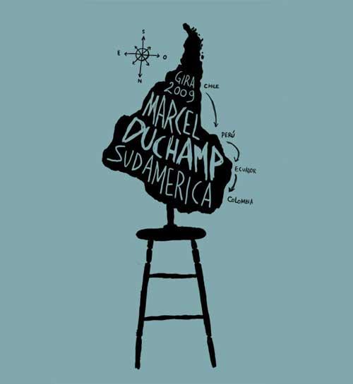 Marcel Duchamp gira por Sudamérica